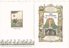 Document Philatélique Timbre 1er Jour : 24/06/ 1995 - Jean de la Fontaine