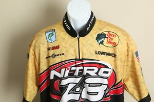 Gemini Bass Pro Shop Men's yellow tony Stewart Haas jersey shirt XL