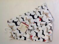 New Envogue Luxry Set of 2 Dog Dish Tea Kitchen Towels Terrier Dachschund