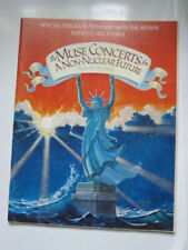 MUSE Concert program Bruce Springsteen Tom Petty Jackson Browne