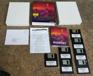 Outpost Sierra Big Box PC Game 3.5 3 1/2 Floppy Disk Rare Vintage Win 95/3.1 EXC