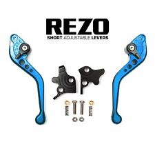 REZO Adjustable Short Brake and Clutch Lever Set for Sinnis Apache 125/Blade 125