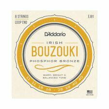 IRISH BOUZOUKI STRINGS - D'ADDARIO EJ81 - 8 STRINGS - LOOP END