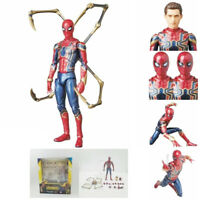 Marvel Spider-Man Mafex No.081 Avengers Infinity War Iron Action Figure In Box