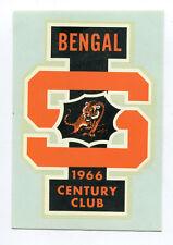 Bengal Tigers 1966 Century Club Idaho State University Collegiate Decal NOS