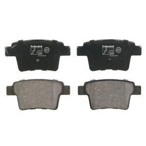 Disc Brake Pad Set-SST Rear Federated D1071