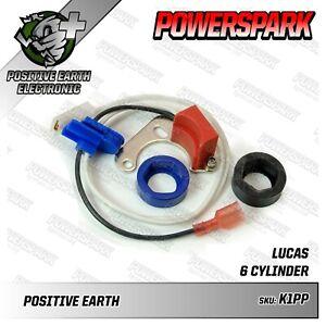 Positive Earth 22D6 25D6 Electronic Ignition Kit Wolseley Six 2.3 6/110 3.0 etc