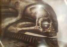 "VINTAGE POSTER~HR Giger Dune 6 #294 1976 Original 30x21"" Morpheus International~"