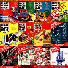 Ultimate Short Wave Craft Radio & Television Magazines Collection 126 Magazine s