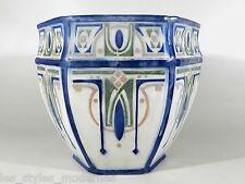 KELLER & GUERIN St.Clement Jugendstil Art Nouveau Keramik Cachepot ° Übertopf