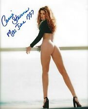 CARRIE STEVENS 06/1997 PLAYBOY PLAYMATE SEXY SIGNED PHOTO  (IN4)