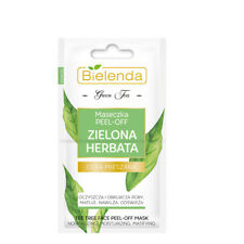 Bielenda Green Tea Peel Off Face Mask for Mixed Skin 2x5g