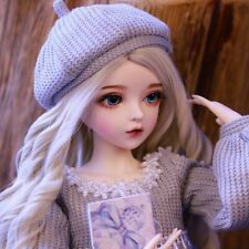 Xmas Gift for Girls 1/3 BJD Doll With Changeable Eyes Wigs Shoes Clothes Dress
