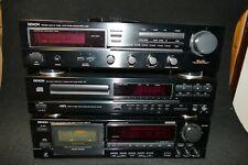 Stereoanlage Denon (Receiver, CD-Player und Tapedeck) - auch Einzeln !