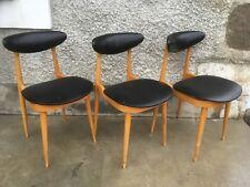 Lot 3 chaises BAUMANN ? Modèle licorne ?´