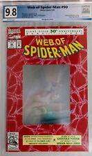 WEB OF SPIDER-MAN #90 PGX 9.8 KEY MARVEL COMIC 30th Anniversary NOT CGC CBCS