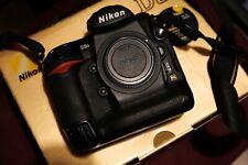 Nikon D3S body boxed low shutter count less than 36k