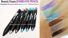 Beauty Treats JUMBO EYE PENCIL- Bold Eyeliner, Blended Out Shadows- 6 Color Set!