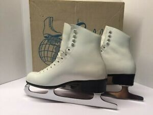 Vintage Riedell Ice Skates Size 7.5 - Skating Shoes Excellent Condition With Box