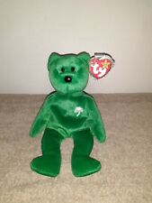 TY Beanie Baby Erin The Bear *Rare 1997* TAG ERRORS in Mint condition!