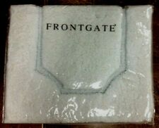 "Frontgate Ethereal Bathroom Bath Rug Surf Polyester Shower Mat Throw 21""x34"""