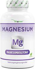 Magnesium Bisglycinat - 240 Kapseln (vegan) á 155 mg elementares Magnesium