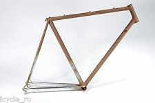 Vintage Guerciotti Bicycle Frame Columbus Steel 55cm Made By Rossin NOS