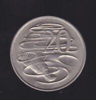 1966  Australia 20 Cent Coin  I-811