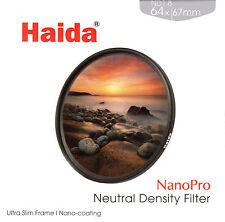 Haida 67mm NanoPro MC ND64 Filter Neutral Density ND 1.8 6 Stop ND1.8 HD3294-67