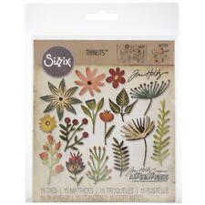 Sizzix Thinlits Die Set 15PK - Funky Floral #3 662702