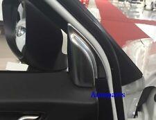 Matt Chrome Door A Pillar frame Cover Trim For Mazda CX5 2013-2016
