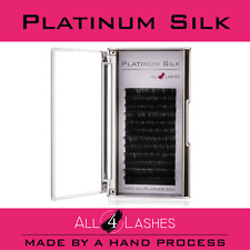 All4Lashes Silk Individual Eyelashes Tray Semi Permanent False Lashes Curl  C  D