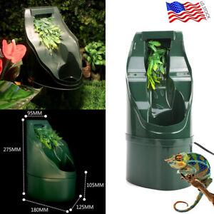 Reptile Drinking Water Fountain Lizard Chameleon Feeding Humidifier Dispenser