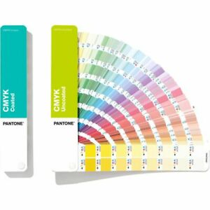 Pantone CMYK Guides Coated & Uncoated GP5101A