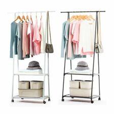 Clothes Rail Rack Garment Dress Hanging Display Stand Shoe Rack Storage Shelf US