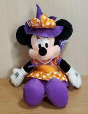 New listing Disney Hallmark Halloween Minnie Mouse Plush Witch Costume Purple Orange Spooky