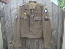 Army Collectable WWII Military Uniform Personal Gear