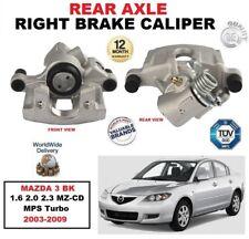 hinten rechts Bremssattel für Mazda 3 BK 1.6 2.0 2.3 MZ-CD MPS TURBO 2003-2009