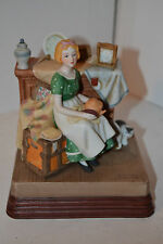 """Norman Rockwell- c1985- """"Dreams in the Antique Shop"""" figurine"""