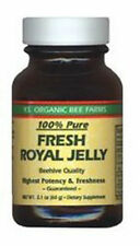 Y.S. Organic Bee Farms 100% Pure Fresh Royal Jelly in Glass Jar 60,000 mg 2.1 oz