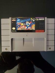 Super Bomberman snes original authentic