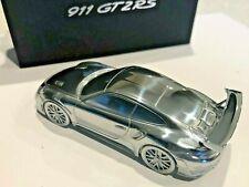 Porsche 911 GT2 RS Aluminium Billet Paperweight Model 991.2 series