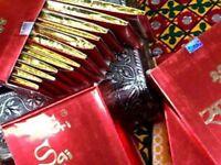 10x Damodhar Sri Sai Flora Fluxo Incense Sticks Masala Agarbatti 25g Freshness