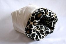 Cuddle Sack for Small Pets ~ Guinea Pig, Ferret, Hedgehog ~ Canvas & Giraffe