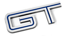 2005-2010 Mustang GT Chrome & BLUE Fender Trunk Lid Emblem