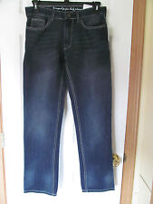 NWT Men's i Jean by Buffalo Dayton Dark Denim blue Jean Pants W 29 L 32