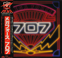 707 - MEGA FORCE, ORG 1982 JAPAN PROMO vinyl LP + OBI + INSERT, MINT-!