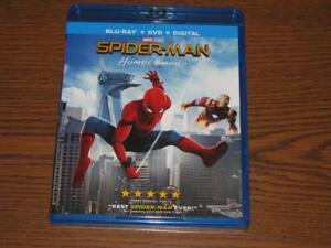 Spider-Man: Homecoming (Blu-ray/DVD, 2017, 2-Disc, Digital Copy) Marvel Studios