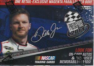 2014 Press Pass NASCAR Factory Sealed Blaster BOX New