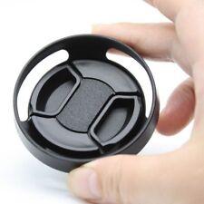 46mm metal tilted vented Lens Hood Shade +Lens cap For Leica M Contax Fujifilm 1